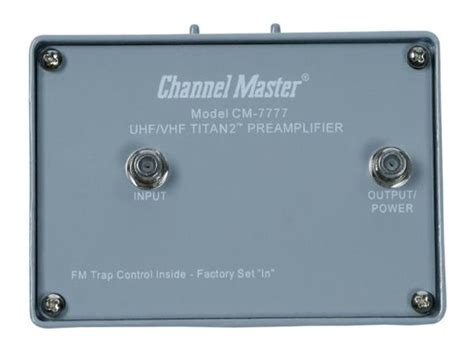 channel master cm high gain preamp home tech experts canada