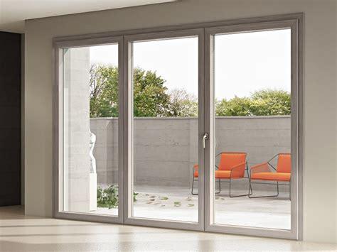 porta finestra in alluminio porta finestra in alluminio e legno aphrodite 86 by pail