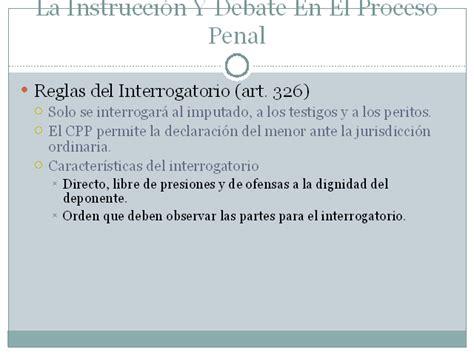 preguntas capciosas en interrogatorio la fase de juicio en el proceso penal dominicano