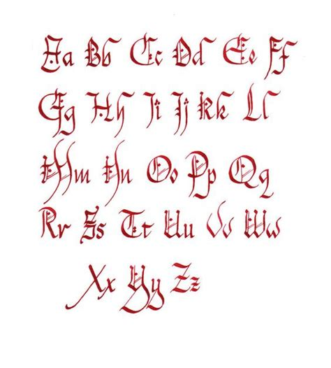 alphabet celtique pour tatouage chanceli 232 re ecriture