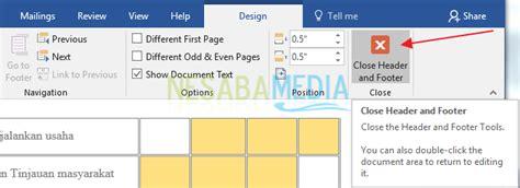 cara membuat nomor halaman di word romawi dan angka cara membuat nomor halaman di word untuk pemula 100 rapi