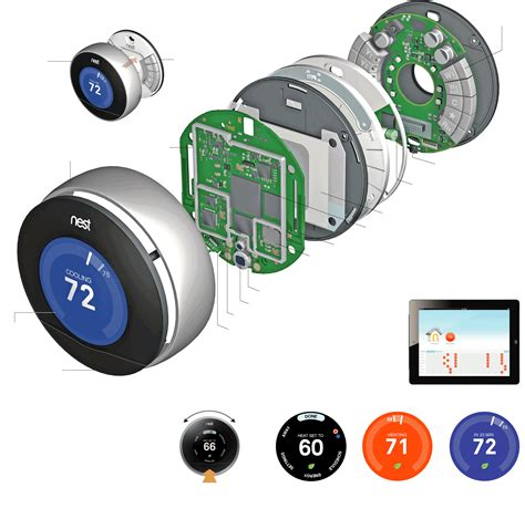 nest motion sensor light inside the nest learning thermostat graphic nytimes com