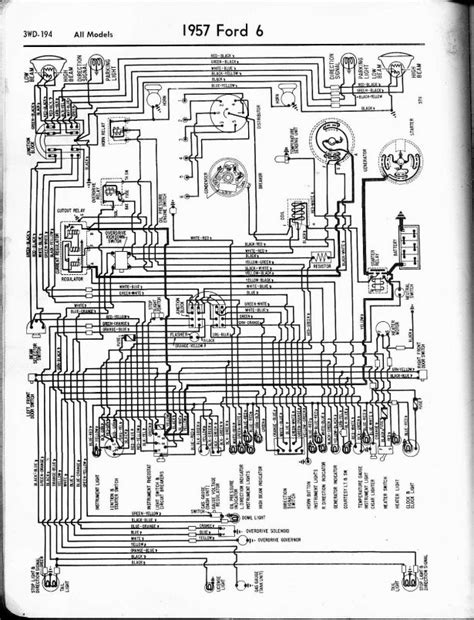 1957 chevy electrical wiring diagrams heater fuse box