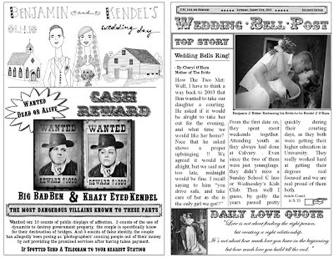 fashioned newspaper template for word
