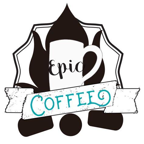 Epic Coffee epic coffee logo epic coffee