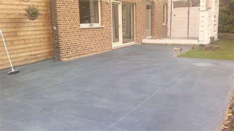 terrasse beton terrasse b 233 ton poli couleur quot extradal quot extradal b 233 ton