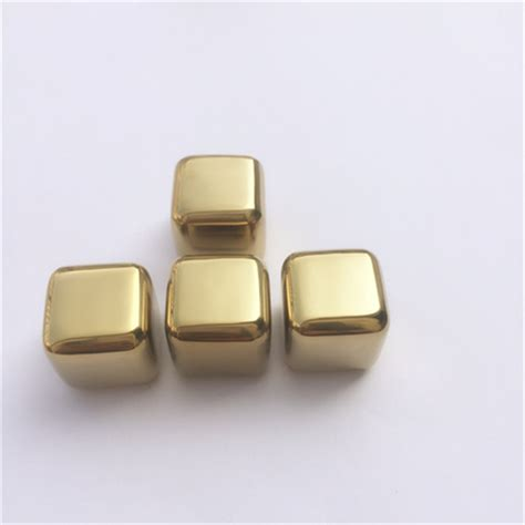 Soapstone Cubes Andi 2017 New 50pcs Lot Golden Stainless Steel Whiskey