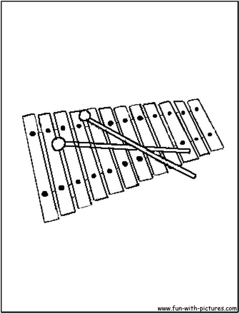free coloring pages of xylophone xylophone coloring xylophone coloringpage xylophone