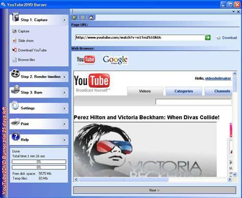 dvd format burner youtube to dvd burner download convert youtube video to dvd