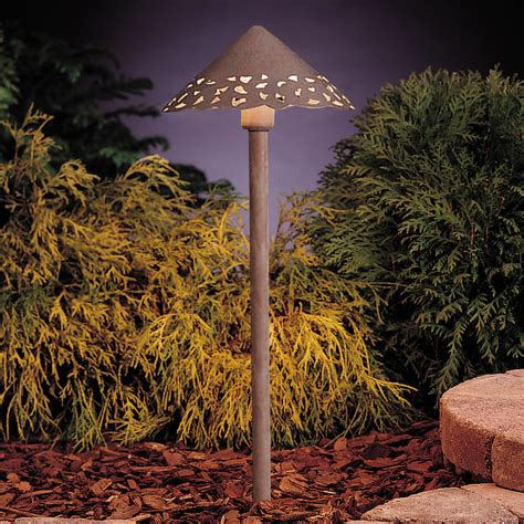 12v Landscape Lighting Kichler 15443ob Lace 12v Landscape Path Spread Light