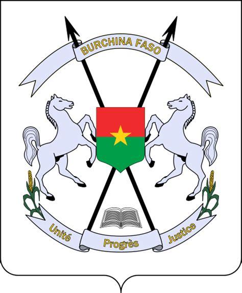 armoiries du burkina faso armoiries et les drapeaux d burkina faso