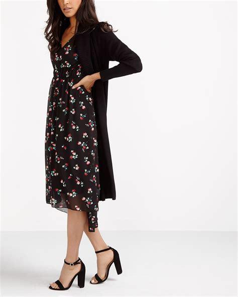 Printed Chiffon Dress chiffon printed dress reitmans