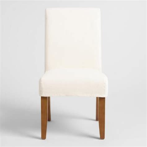 world market dining chair slipcovers linen short anna chair slipcover world market
