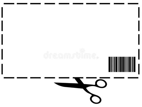 Blank Coupon Stock Illustration Illustration Of Space 8483602 10 Percent Coupon Template