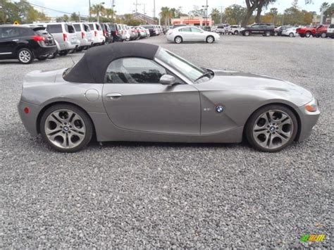 bmw z4 3 0i 2003 sterling grey metallic bmw z4 3 0i roadster 55487538
