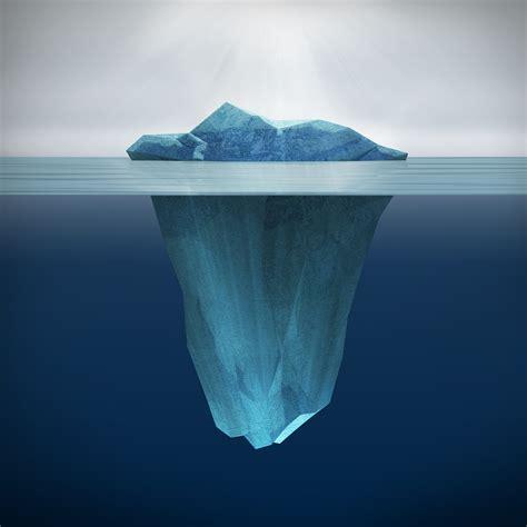 The Iceberg the iceberg illusion tackle trading