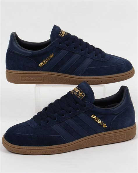 Adidas Nevy adidas spezial trainers navy gum suede shoes mens