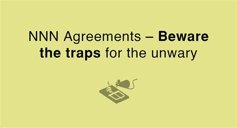 Nnn Agreements Beware The Traps For The Unwary Everynda China Nda Template
