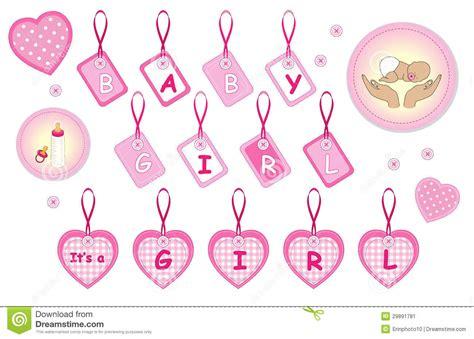clipart neonato elementi neonati di disegno della neonata illustrazione