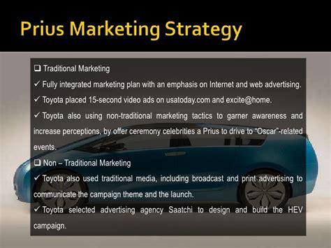 Toyota Marketing Strategy Toyota Prius