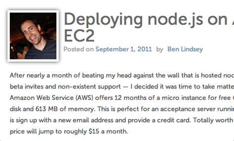 node js aws tutorial useful node js tools tutorials and resources smashing