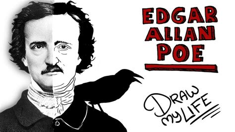 edgar allan poe biography video youtube edgar allan poe draw my life youtube