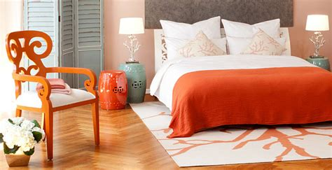 camere di letto dalani da letto arancione allegria nella zona notte