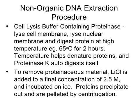 proteinase k dna extraction protocol dna extraction