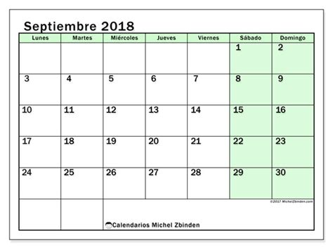 Florida A M Master Mba Calendar 2018 by Calendarios Septiembre 2018 Ld