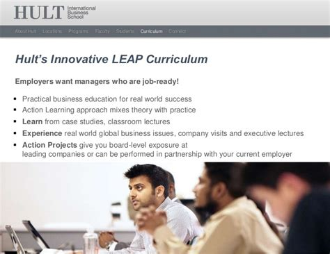 Hult Mba Curriculum by Hult International Business School Masters Overview 2012