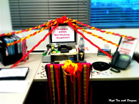 decorating coworkers desk for birthday desk decorating ideas for birthday exle yvotube com