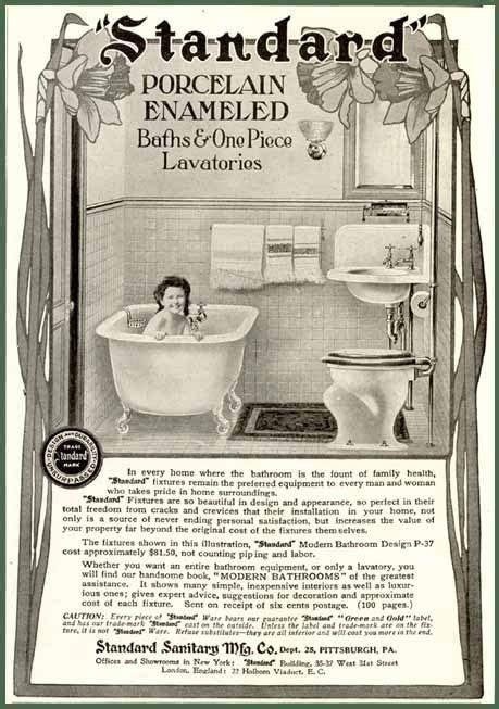 vintage bathroom advertisements 179 best images about 20s 30s 40s bathroom on pinterest