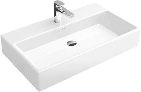 waschtisch memento villeroy boch memento waschbecken wei 223 mit 1 hahnloch