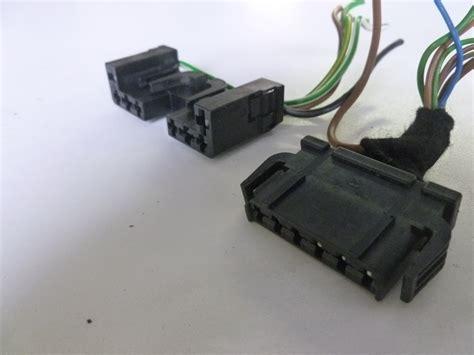 electric power steering 2002 audi s4 windshield wipe control 2000 audi tt mk1 8n steering column windshield wiper controls connector plugs 893971636