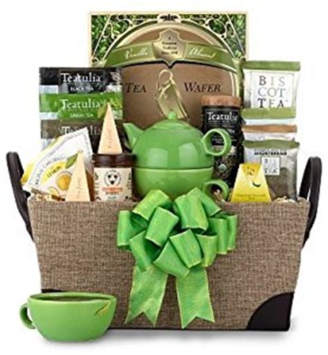 Amazon.com: It's Teatime   Unisex   Holiday Christmas Gift Baskets Ideas for Men, Women, Him or