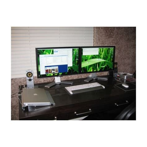 home office monitor how to set up dual monitors to increase productivity