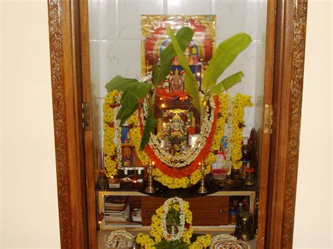 decoration of pooja room at home flower decoration for pooja www imgkid the image