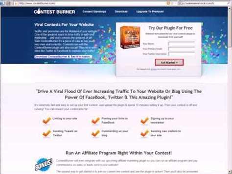 7 Tips On Increasing Website Traffic by Viral Marketing 7 Tips For Running An Contest To