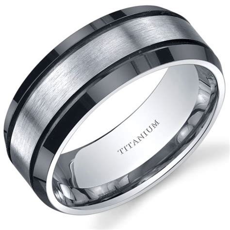 titanium mens wedding bands mens titanium wedding bands a trusted wedding source by dyal net