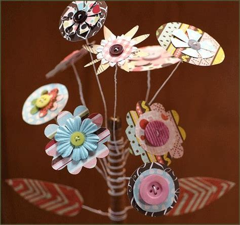 tutorial paper flowers scrapbooking 25 best ideas about scrapbook paper flowers on pinterest