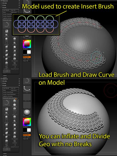 zbrush chainmail tutorial poboroznyuk s sketchbook page 4