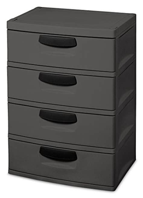sterilite 4 shelf cabinet flat gray sterilite 01743v01 4 drawer unit flat gray with black
