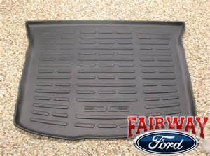 Cargo Liners For Ford Edge 2011 Thru 2014 Edge Ford Parts Black Cargo Area Protector