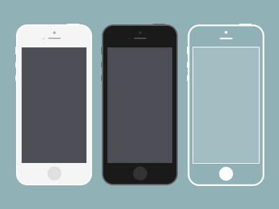 iphone themes psd free iphone 5s psd templates titanui