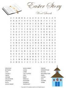 religious easter word puzzle