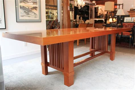 frank lloyd wright desk quot taliesin 2 quot dining by frank lloyd wright for