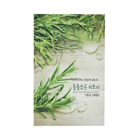 Masker Nature Republic nature republic real nature mask sheet 1pcs