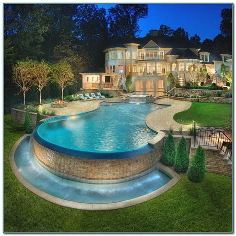 backyard above ground pool landscaping ideas pools
