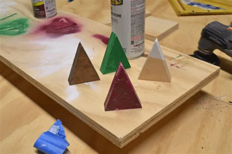 how to make place card holders how to make easy tree place card holders home