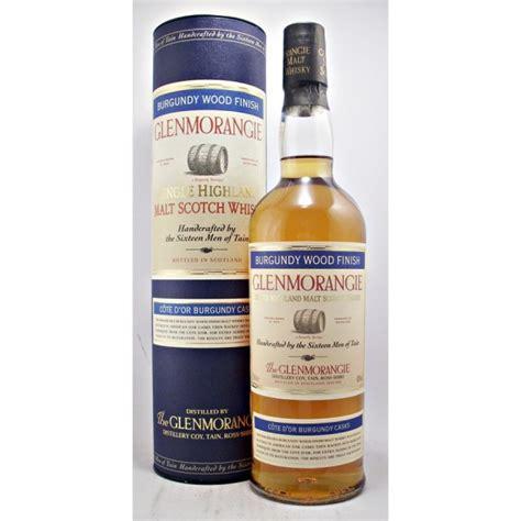 glenmorangie wood glenmorangie burgundy wood finish malt whisky